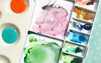 Watercolour versus Acrylic. Which Type of Paint for Beginners?